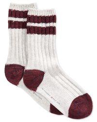 Tommy Hilfiger Gray Women's Cabin Boot Crew Socks