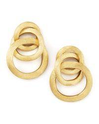 Marco Bicego | Metallic Jaipur Link Gold Large Twist Earrings | Lyst