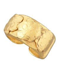 Jose & Maria Barrera | Metallic Gold Nugget Cuff | Lyst