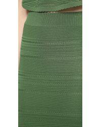 Torn By Ronny Kobo Ronny Skirt Classic Green