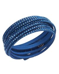 Swarovski | Blue Slake Crystallized Cobalt Bracelet | Lyst