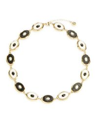 House of Harlow 1960 | Black Reversible Monochromed Collar Necklace | Lyst