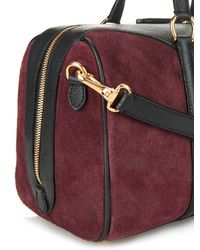 Burberry Purple Alchester Medium Shoulder Bag