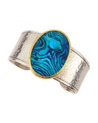 Gurhan | Blue Surf Twotone Paua Shell Cuff | Lyst