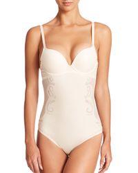 Spanx   White Haute Contour Deco Sweetheart Bodysuit   Lyst
