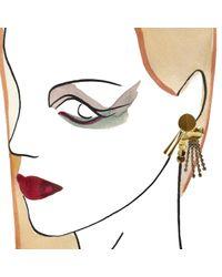 Lizzie Fortunato | Metallic Souk Earrings | Lyst