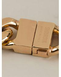 Shourouk - Metallic 'gaius' Necklace - Lyst