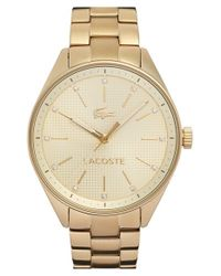 Lacoste | Metallic 'philadelphia' Bracelet Watch | Lyst