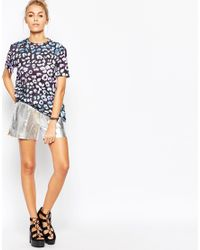 Jaded London - Black Leopard T-shirt - Lyst