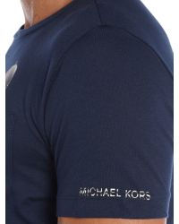 Michael Kors | Blue Regular Fit Sunglasses Graphic T-shirt for Men | Lyst