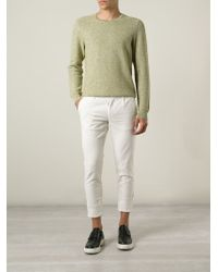 Paolo Pecora Natural Chino Trousers for men
