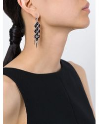 Stephen Webster | Metallic Faceted Stone Earrings | Lyst