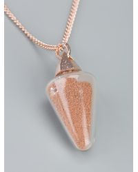 Bjorg Pink 'dream Of Sleep' Necklace