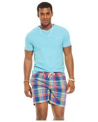 Polo Ralph Lauren | Blue V-neck T-shirt for Men | Lyst