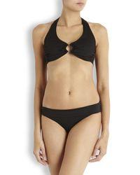 Heidi Klein Kerala Black Bikini Top