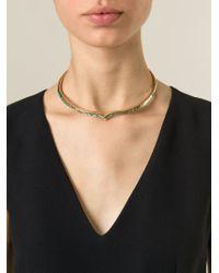 Aurelie Bidermann - Pink 'Apache' Necklace - Lyst