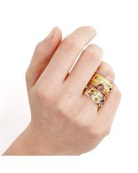 Astley Clarke - Metallic Matt Wide Tempo Ring - Lyst