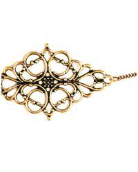 ASOS - Metallic Filigree Choker Necklace - Lyst