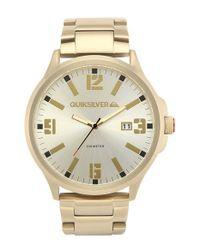 Quiksilver Metallic 'the Beluka' Bracelet Watch