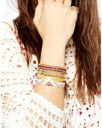 Hipanema - Multicolor Amor Friendship Bracelet - Lyst