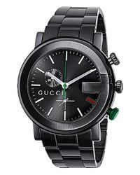Gucci - Black 'g Chrono Collection' Watch - Lyst