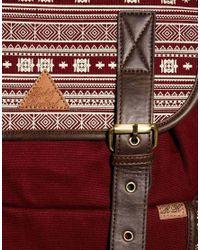 Rock Revival - Red Aztec Backpack for Men - Lyst