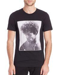 Rosser Riddle Black James Brown T-shirt for men