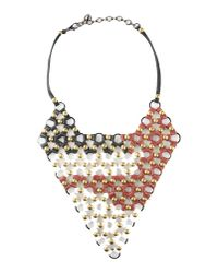 First People First | Red Necklace | Lyst