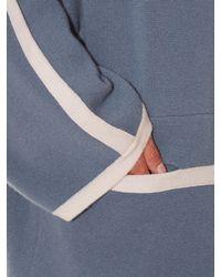 Chloé   Blue Contrast-Trim Cashmere Jacket   Lyst