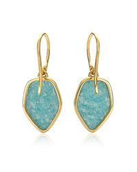 Monica Vinader Blue Atlantis Flint Drop Earrings