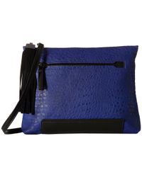 French Connection | Blue Camden - Clutch | Lyst