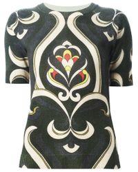 I'm Isola Marras - Multicolor Arabesque Print Sweater - Lyst