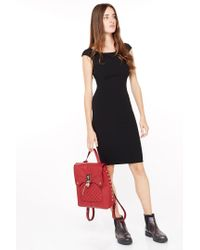 Liu Jo | Black Stretch Knee-length Dress | Lyst