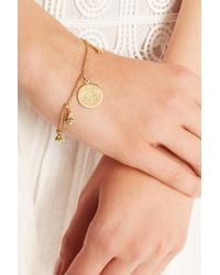 Carolina Bucci | Metallic Virtue 18-Karat Gold Diamond Charm Bracelet | Lyst