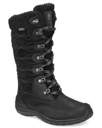 Timberland | Black Women's Willowood Lace-up Cold Weather Boots | Lyst