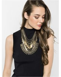 BaubleBar | Metallic Amazon Tassel Bib | Lyst