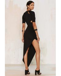 Nightwalker | Black Justify Maxi Dress | Lyst