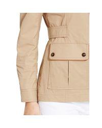 Ralph Lauren Golf Natural Leather-trim Bi-swing Jacket