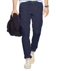Polo Ralph Lauren Blue Slim-fit Stretch Cargo Pants for men
