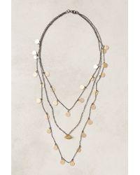 Anthropologie | Metallic Mariette Coin Necklace | Lyst