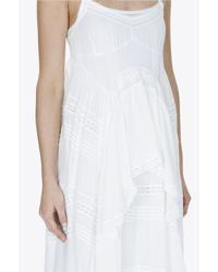 Needle & Thread White Victoriana Frill Maxi Dress In Chalk