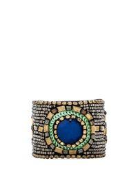 Raga Metallic Beaded Bracelet