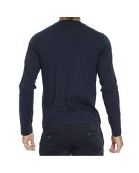 Cruciani | Blue Sweater Man for Men | Lyst