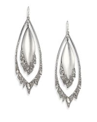 Alexis Bittar | Metallic Lucite Fragmented Drop Earrings | Lyst