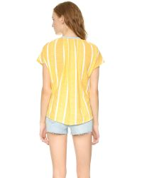 Ace & Jig White Voyage Top - Sundial
