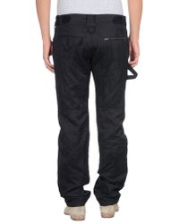 John Richmond - Black Casual Trouser for Men - Lyst