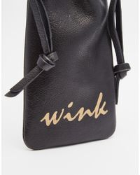 Urbancode - Black Wink Sunglasses Case - Lyst