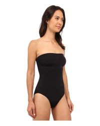 Wacoal - Black B-smooth Strapless Bodybriefer - Lyst