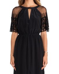 Alice By Temperley Black Everette Maxi Dress