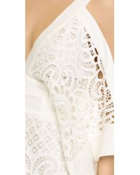 Alice McCALL White Keep Me There Romper